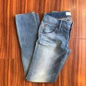 Ladies Hudson straight leg jeans w/stretch